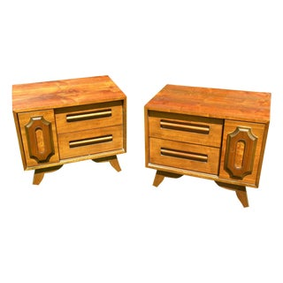 Vintage Mid Century Night Stands/End Tables - Pair