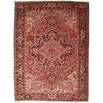 "Image of RugsinDallas Vintage Persian Heriz Rug 8' 2"" X 11' 2"""