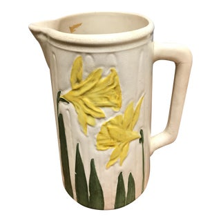 English Yellow Daffodil Pitcher