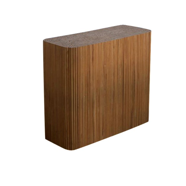 Wood Dowel Accent Table - Image 1 of 5
