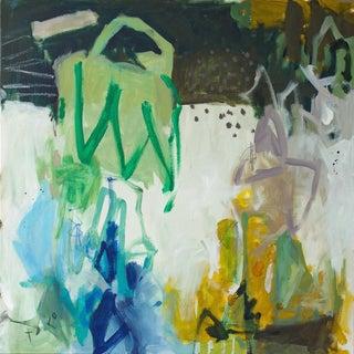"""Gina Cochran """"Prince Charming"""" Mixed Media Painting"""