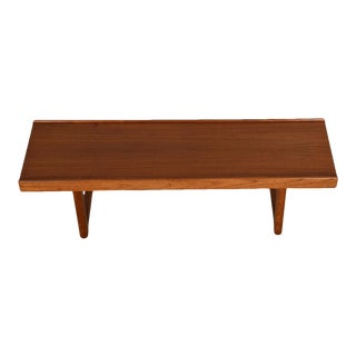 Danish Modern Bench / Coffee Table in Teak by Torbjorn Afdal