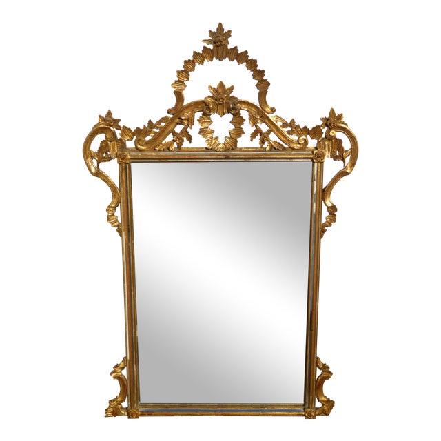 Italian Gilt Wood Mantle Mirror - Image 1 of 11
