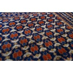 """Image of Area Rug, Red, Blue & Ivory Pattern - 2' X 3' 5"""""""