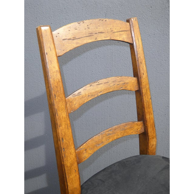 Minton Spidell French Country Black Bar Stools - Image 7 of 11