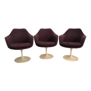 Vintage Knoll Saarinen Tulip Chairs - Set of 3