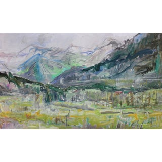 """Abstract Landscape -Trixie Pitts """"Majesty"""""""