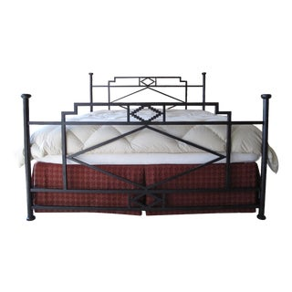 Corsican Iron King Bed Frame