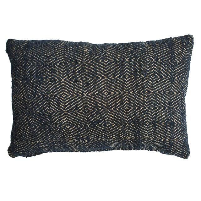 Image of Vintage Vietnam Hypnotic Indigo Tai Pillow Cover