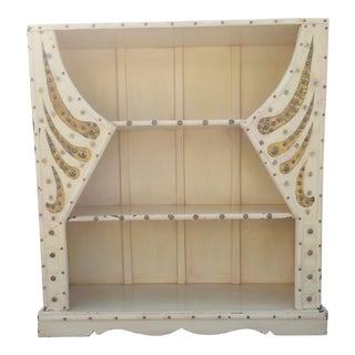 Eclectic Embellished Bookshelf