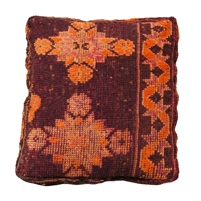 Floor Pillows Moroccan : Deep Purple Moroccan Floor Pillow Chairish