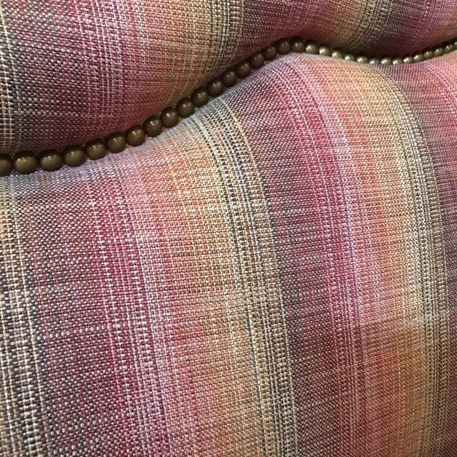 Custom Linen Sofa - Image 6 of 9
