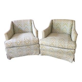 Mid-Century Club Chairs - a Pair