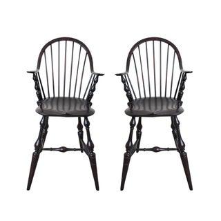 D.R. Dimes Colonial Tavern Chairs - A Pair