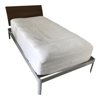 Luciano Bertoncini Min Bed With Headboard