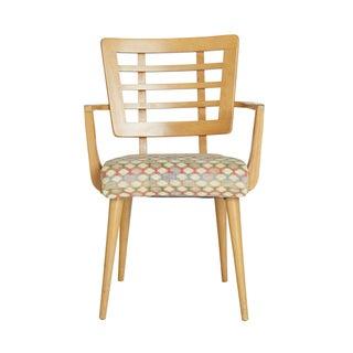 1950s Retro Maple Armchair
