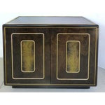 Image of Romweber Nightstands with Brass, Pair