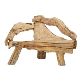 Swedish Driftwood Lounge Chair