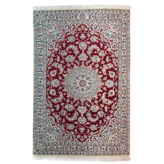 """New Traditional Hand Knotted Area Rug - 3'9"""" x 5'9"""""""