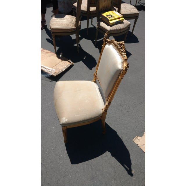 Image of French Giltwood Accent chair