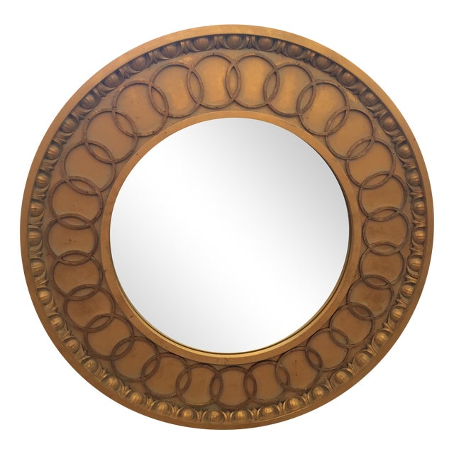 McLain Wiesand Custom Gold Concentric Mirror - Image 1 of 6