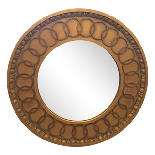 McLain Wiesand Custom Gold Concentric Mirror