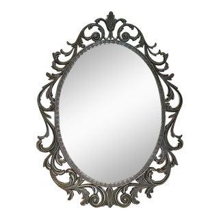 Italian Metal Wall Mirror