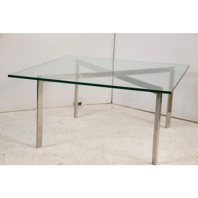 Barcelona Table by Mies van der Rohe for Knoll - Image 3 of 8