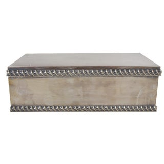 Handmade Silver-Plate Box