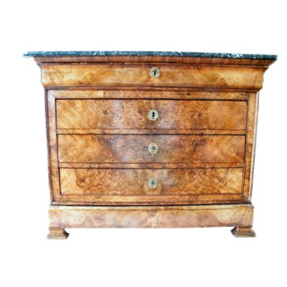 French 19th Century Walnut Commode
