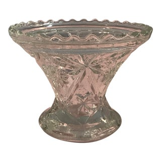 Vintage Mid-Century Modern Glass Dish