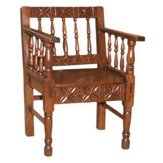 1860's Spanish Colonial Armchair