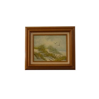 By The Beach Framed Painting