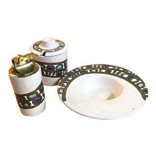Raymor Bitossi Lighter Smoking Set - Set of 3