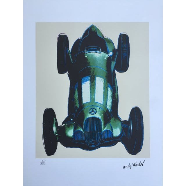 Andy Warhol Mercedes Grano-Lithograph - Image 2 of 5