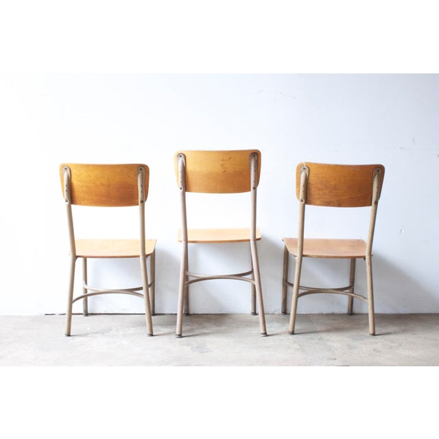 Image of Maple Plywood School Chair