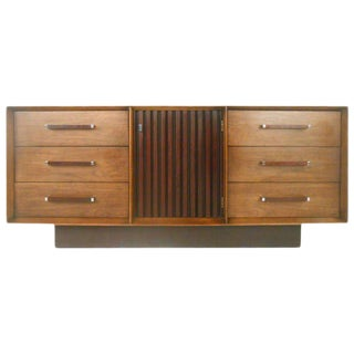Mid-Century Modern American Walnut Dresser