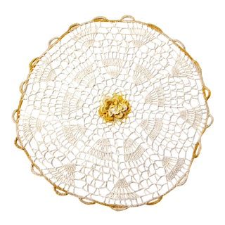 Vintage Crotchet Table Doily