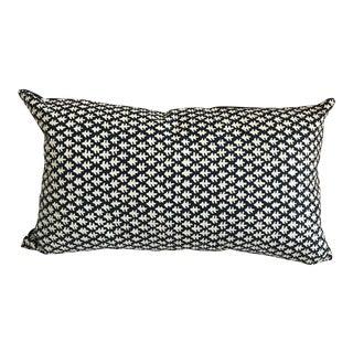 """Indigo Sister Parish Lumbar Pillow - 22"""" X 13"""""""