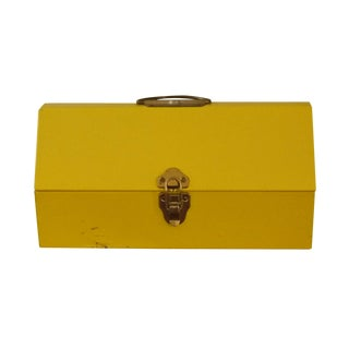 Yellow Metal Toolbox
