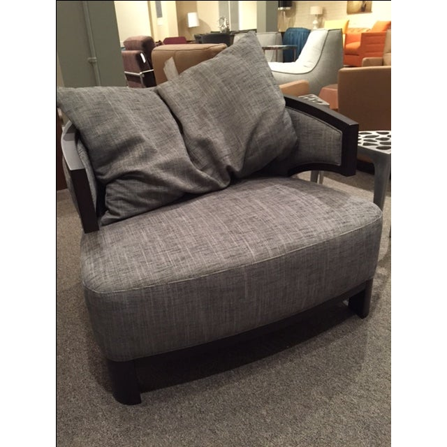 Image of Constantini Black/White Lounge Chair