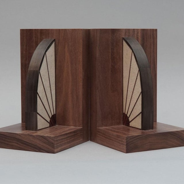 Walnut Bookends - Image 3 of 5