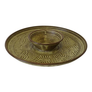 Vintage Ceramic Serving Bowl