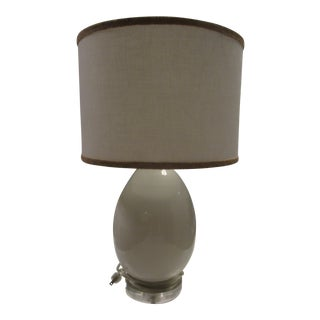 Jamie Young Small Egg Table Lamp