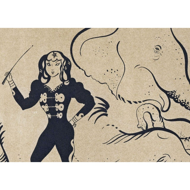 Image of 1944 Lithographs - Circus: # 50 & 51 - A Pair