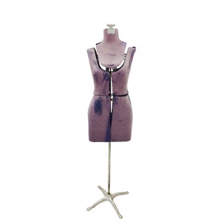 Vintage Dress Form Model on Stand