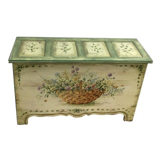 Habersham Hand Painted Trunk