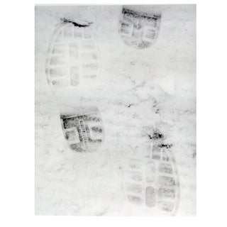 """""""Footprints in the Snow"""" Photograph"""