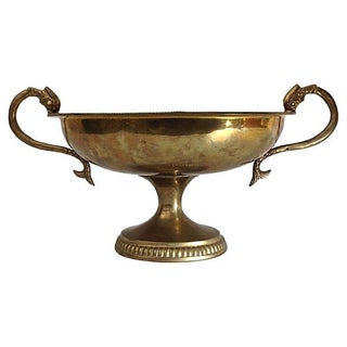 Brass Trophy Bowl