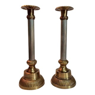 Vintage Paradigm Exclusives Candle Holders - a Pair